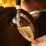 フレッシュな樽生スパークリングワインを是非ご賞味ください。
