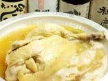 自慢のスープで播州赤鶏を丸々煮込んだ【播州丸鶏鍋コース】