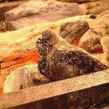 紀州備長炭で焼く旨味のある焼鳥