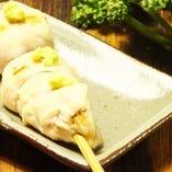 播州百日鶏のムネわさび 《本わさび使用》