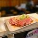 【肉刺し】 低温調理した肉刺しが4種類