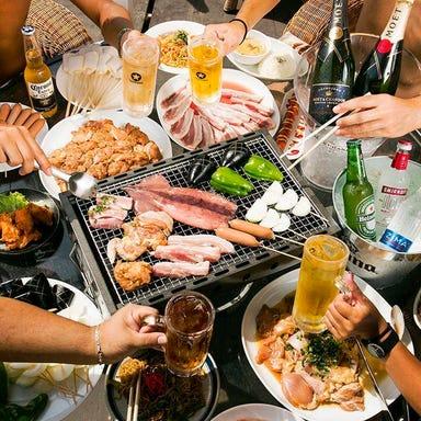 江ノ島海の家×ビアガーデン BBQキッチンブルー~プクプク~ コースの画像