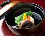 タラバガニ豆腐のお椀