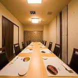 1組のお客様のためだけに設えられ離れの個室特別室となります。