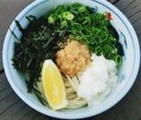 ねぎ味噌うどん(手造り味噌使用)
