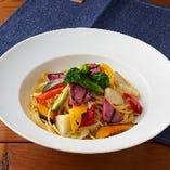 野菜たっぷり名物奈良パスタ オイルソース