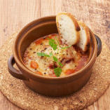 南仏風イカのトマト煮とチーズオーブン焼き