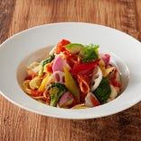 野菜たっぷり名物奈良パスタ トマトソース