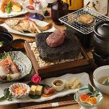 旬食材を味わう贅沢コース