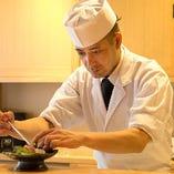 【ご接待にも】 料理長おまかせコースでは豪華食材をふんだんに