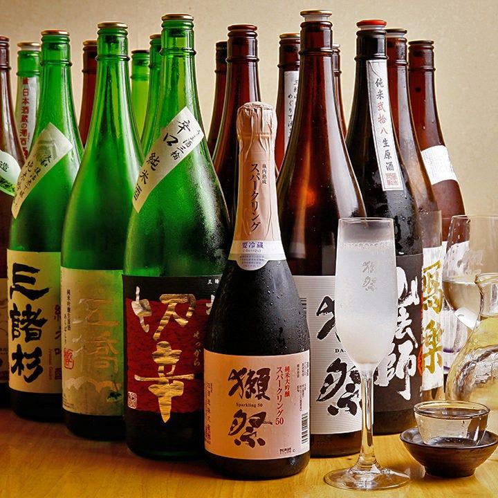 全国から厳選した30種の美酒を堪能