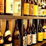 全国から厳選日本酒を20種類以上ご用意!焼き鳥との相性は最高…