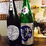 煮丁では店主目利きの日本酒をご用意しております。
