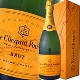 ヴーヴクリコ イエローラベル ハーフ(フランス)シャンパン