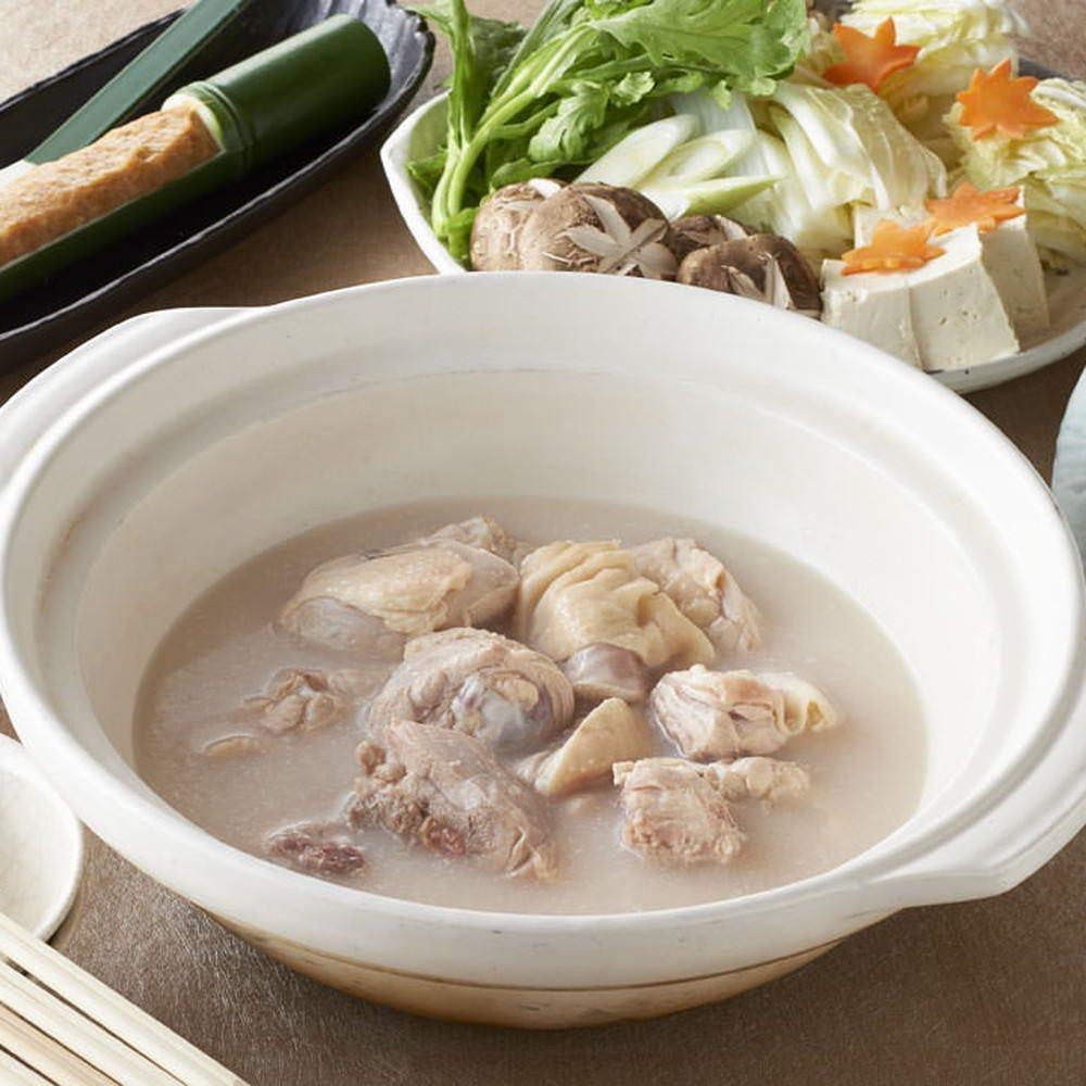水炊きorもつ鍋から選べる贅沢プラン