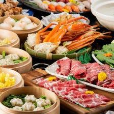 満腹!しゃぶしゃぶ・点心・寿司など