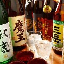 料理にあう焼酎・日本酒の数々♪