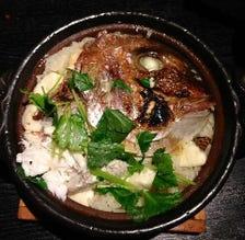 薬味屋名物 土鍋の鯛めし(小鍋)