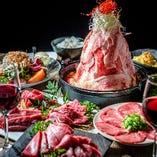肉鍋宴会コース飲み放題付4000円(税抜)!焼肉と両方のコースも有