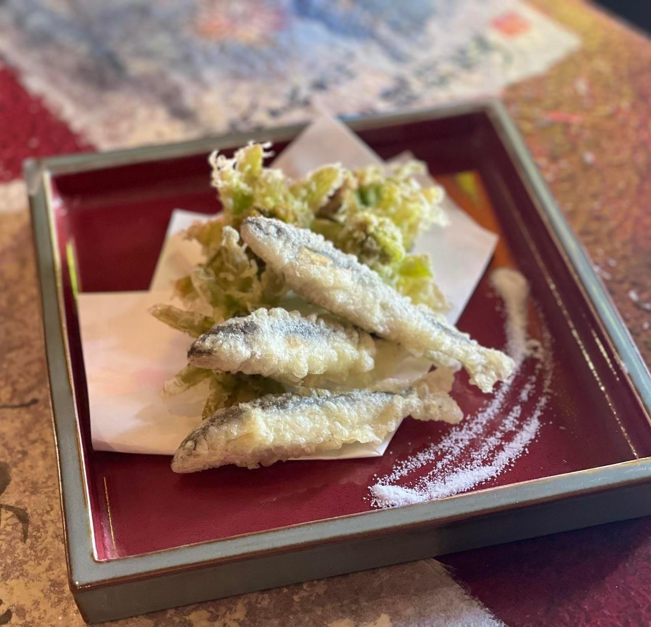 岐阜とれ稚鮎と天然山菜はじまりました