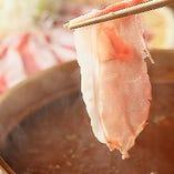 【お取り分けいたします】松茸、飛騨牛、味噌しゃぶ旬のお任せご馳走コース+2000円で100分飲み放題に