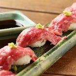 【飛騨牛】A5サーロイン寿司