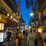 岐阜の繁華街「玉宮」にあります。