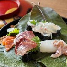 【お取り分けします】天然木の子と白子、松茸、飛騨牛、旬のお任せ贅沢コース+2000円で100分飲み放題/接待