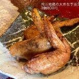 朝引き 古田地鶏の大きい手羽先