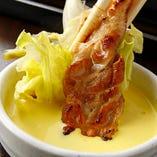 ★「カンナ三段バラ」の美味しい焼き方★【食べ方1】マスタードソースで!!レモンとらっきょが隠し味の特製マスタードソースはヤミツキ級。