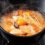 ・純豆腐チゲ