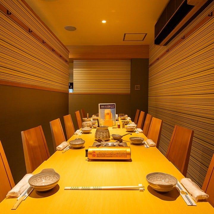 【宴会個室】座敷半個室最大12名様