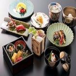 大切なお客様のおもてなし、四季折々の日本料理