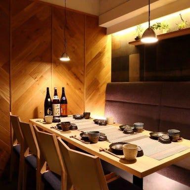 個室×日本酒バル 八重洲魚の目利き 店内の画像