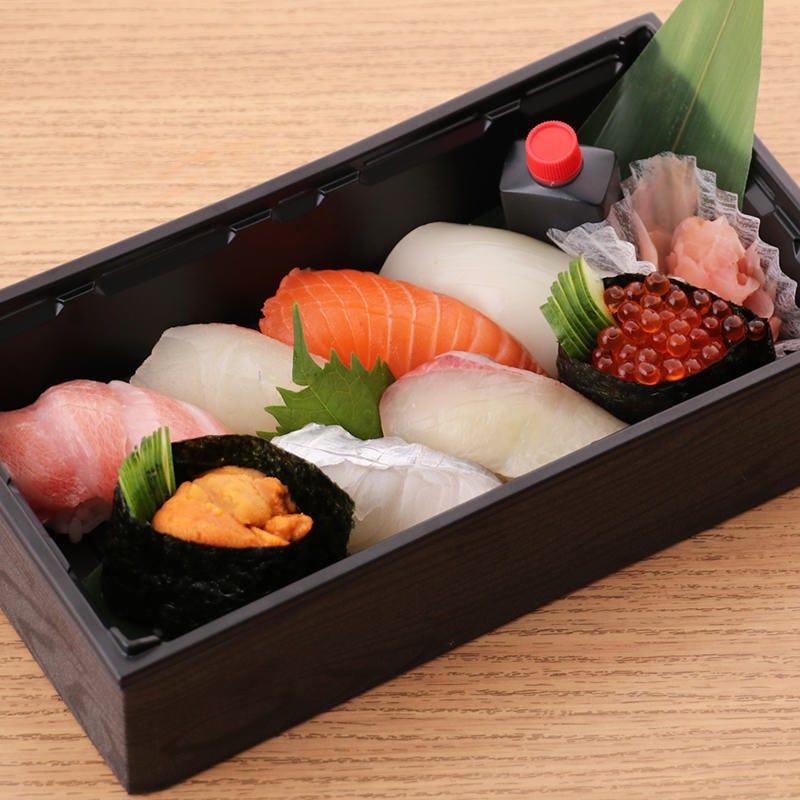 職人が心を込めて握るお寿司をご堪能ください!