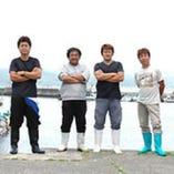 串本の漁師さんたち (この人たちのおかげです)