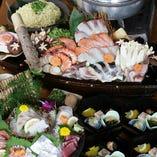 海鮮塩ちゃんこ鍋コース(全5種)