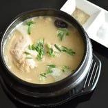 【毎日限定5組まで】参鶏湯(さむげたん)定食(※ランチ限定メニュー)