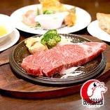 肉専門店ステーキハウス COOK BARNの ステーキ料理をご案内
