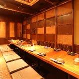 ■団体様用:個室■ 最大40名様までご案内!