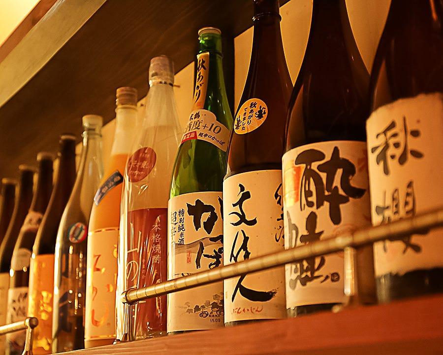 ■日本酒・焼酎…お酒と料理を楽しむ