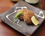 魚ロッケ (白身魚のすり身コロッケ)