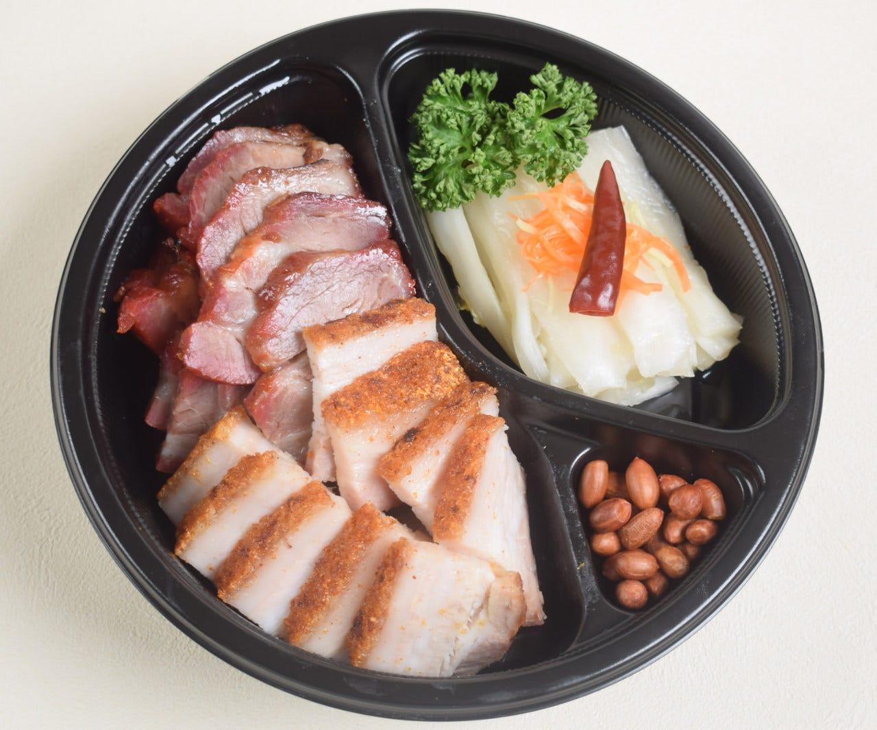 同發名物焼き物と白菜の甘酢漬け 2~4名様2000円