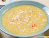 タラバ蟹入りコーンスープ