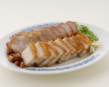 -叉焼拼焼肉-チャーシュー&皮付き豚バラ肉の焼物