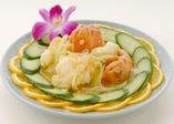 羗葱局龍蝦-イセエビとねぎの生姜炒め