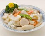 野菰炒双鮮-海鮮とエリンギの炒め