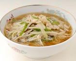 鶏絲湯麺-鶏肉そば