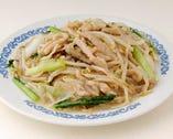 銀芽炒麺-もやしと豚肉入り焼きそば