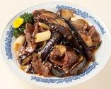 茄子炒牛肉-牛肉となすのピリ辛炒め